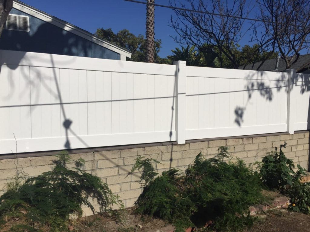 Vinyl Privacy Fence, Vinyl Wall Extensions