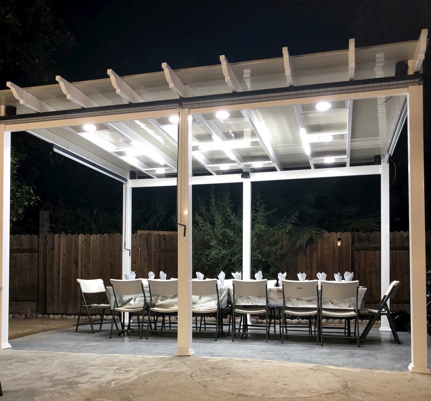 Vinyl Gazebos Wesco Vinyl Fence Company Los Angeles