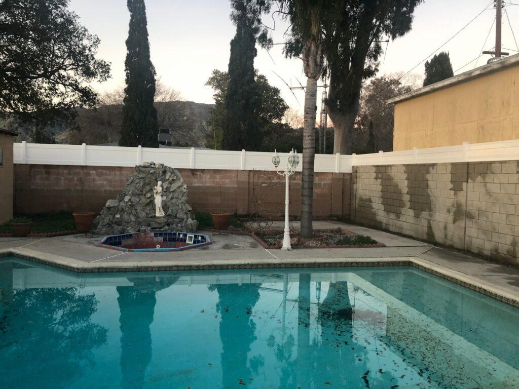 Vinyl Perimeter Fence, Vinyl Pool Fence
