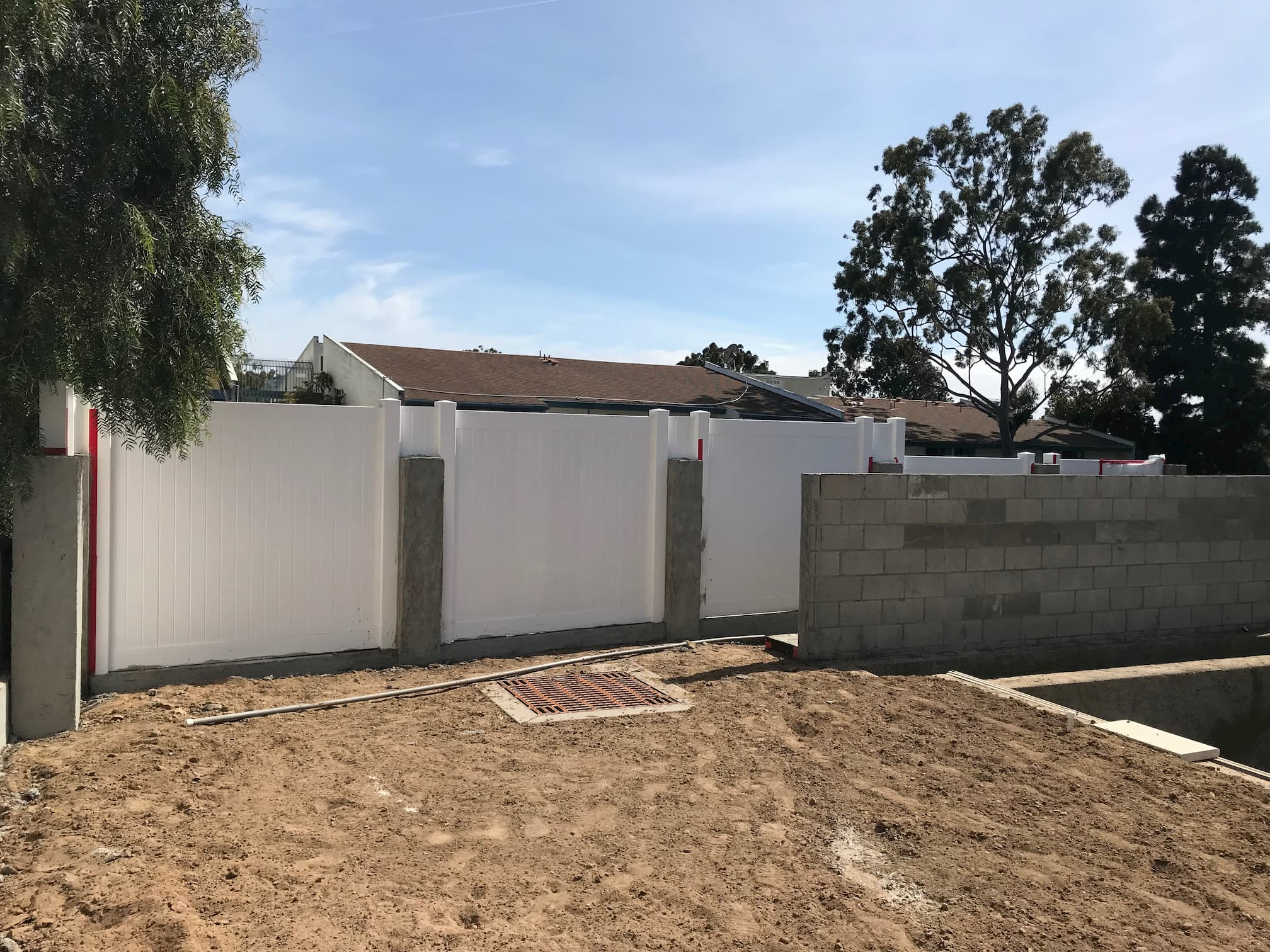 Vinyl Privacy Fence Los Angeles